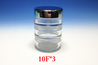 3 Set Stackable Jar 10F