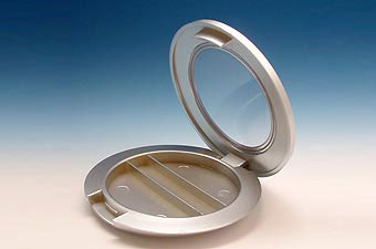 Round and Grey Eyeshadow Container PH101-2