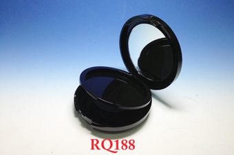 Round and Double Layer Blush Container RQW188