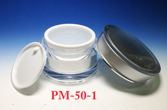 Acrylic Cream Jars PM-50-1