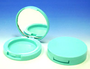 Round and Green Eyeshadow Container 9019B