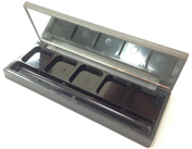 Rectangle and Black Eyeshadow Container OK5